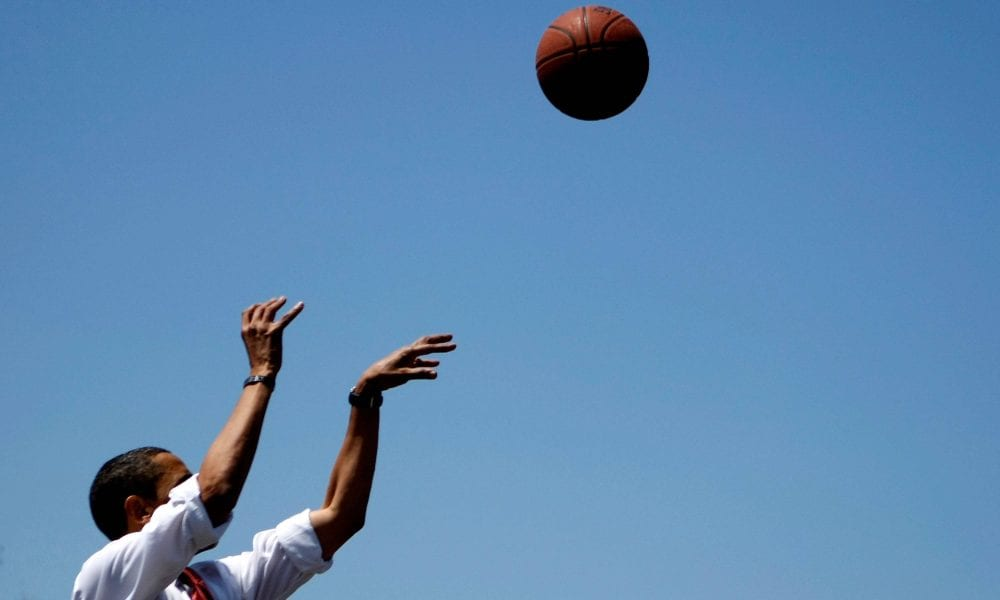 "Obama Reks Ted Cruz for calling a hoop a ""Basketball Ring"""
