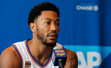 Derrick Rose Knicks Press Conference