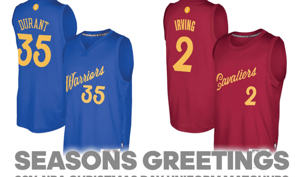 NBA Christmas Day Jersey 2016