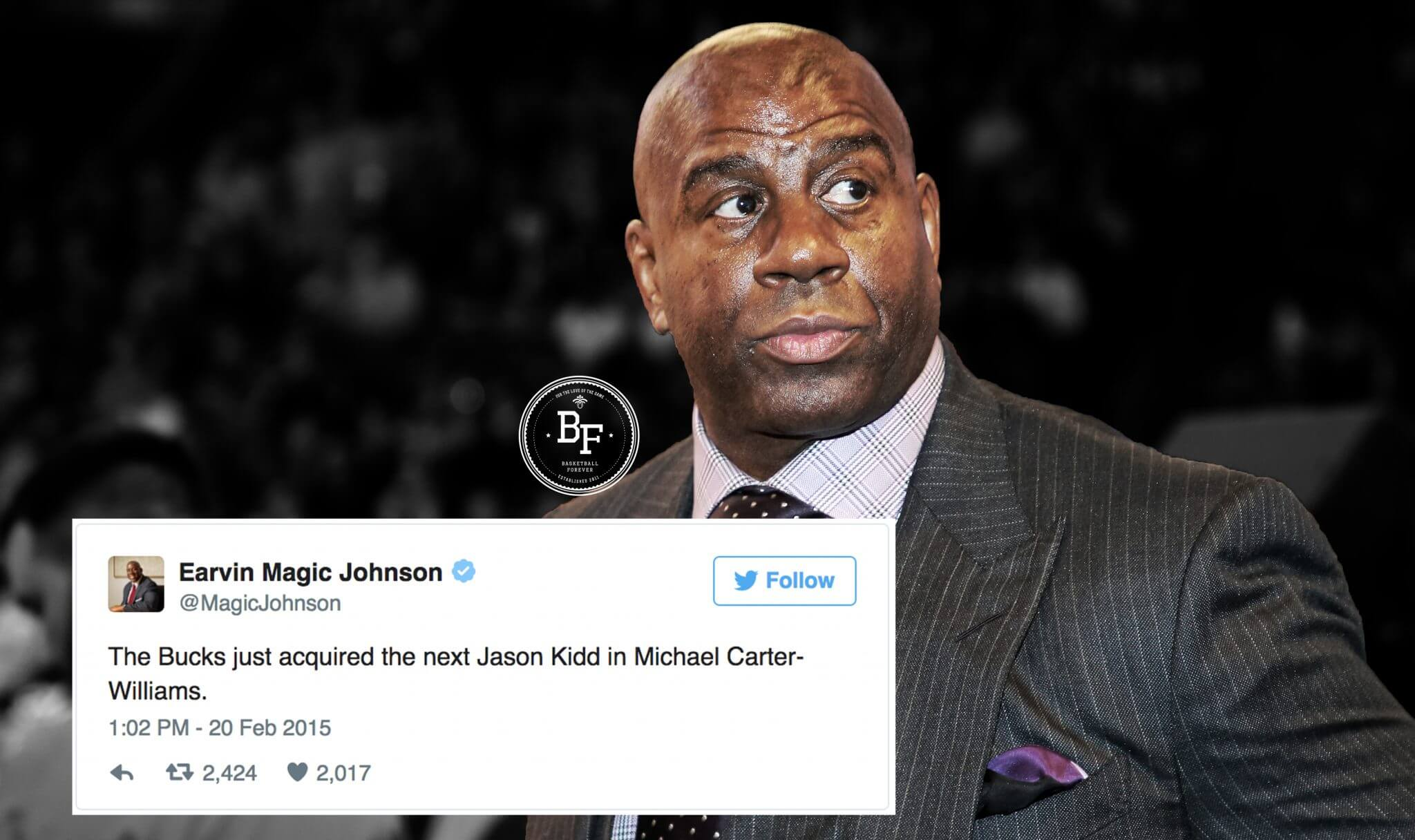Fans Dig Up Magic Johnson s Old Tweets After He s Named President