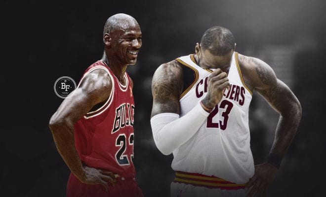 Comparing Michael Jordan Amp LeBron Jamess Finals All Star