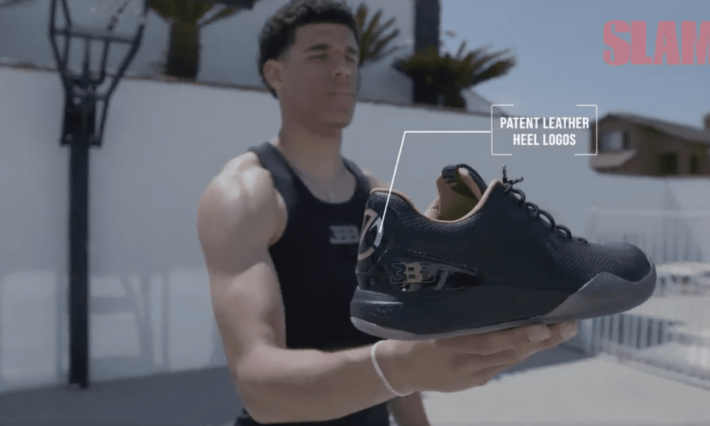 Lonzo Ball Drops Signature Shoe By Big Baller Brand For $500