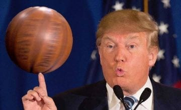 Donald Trump Basketball Forever