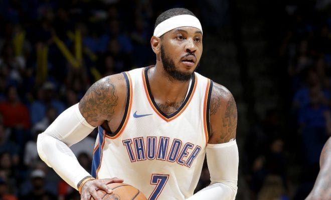 32ffeac682e Carmelo Anthony Says Report That Jordan Brand Is Ending His Shoe Line Is   False News