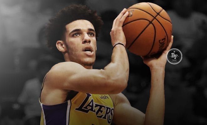 Image for Magic Johnson Explains Why Lakers Aren't Going To Change Lonzo Ball's Shot