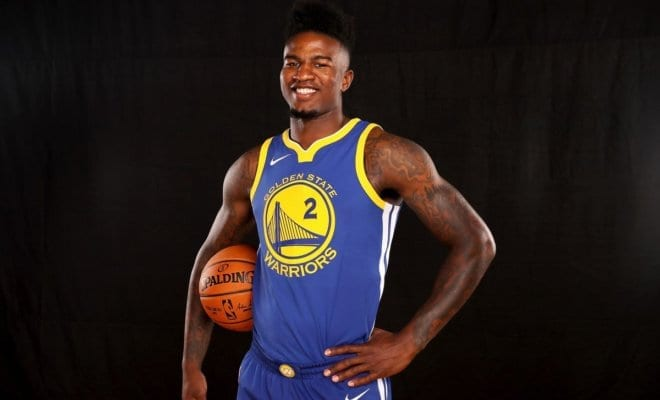 promo code 841f6 58834 Jordan Bell Has No Time For DeMarcus Cousins'