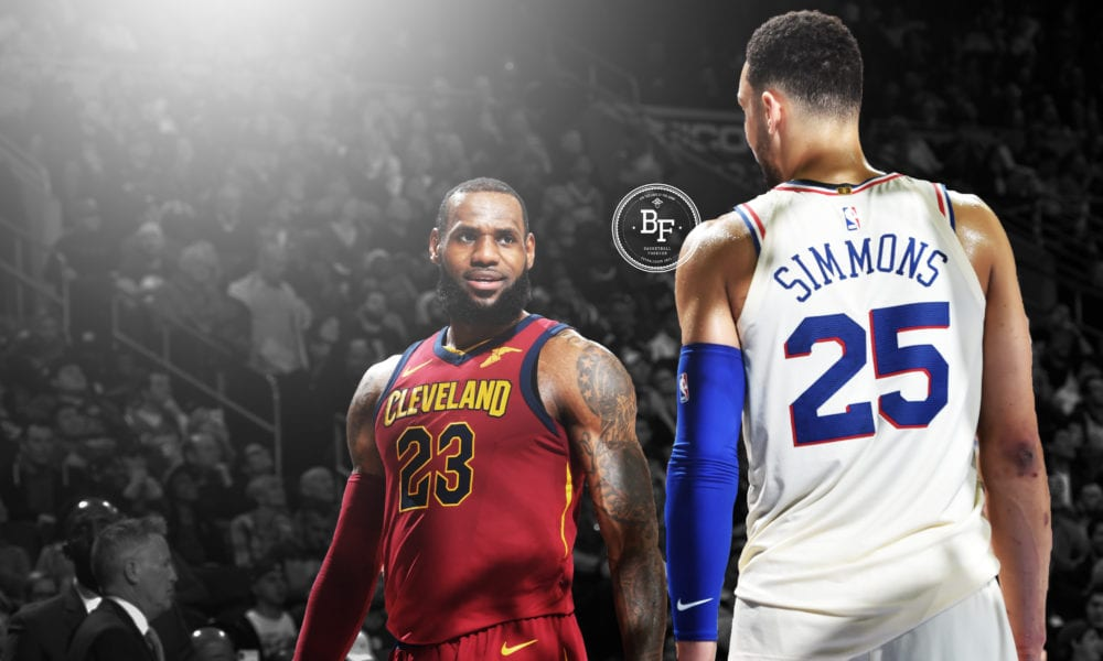 Living Up To The Hype – The Epic Battle That Was Lebron vs Ben Simmons