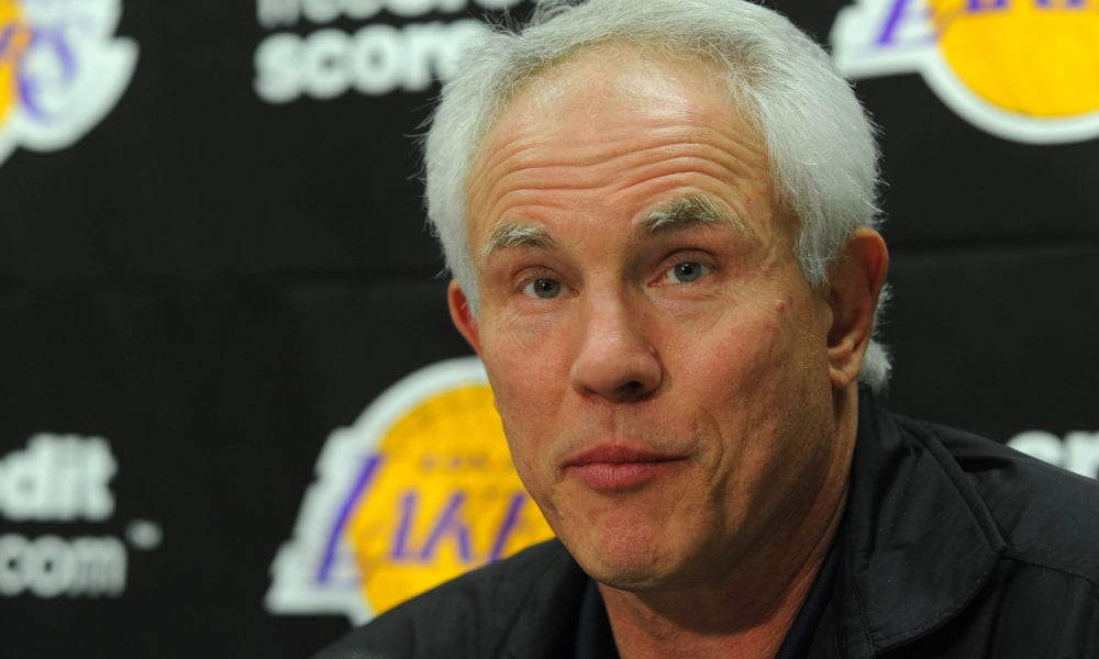 Hornets Hoping For Fresh Start After Hiring Former Lakers GM Mitch Kupchak