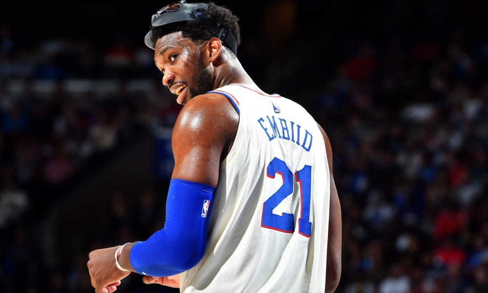 Joel Embiid Destroys Hassan Whiteside With Kanye West Reference