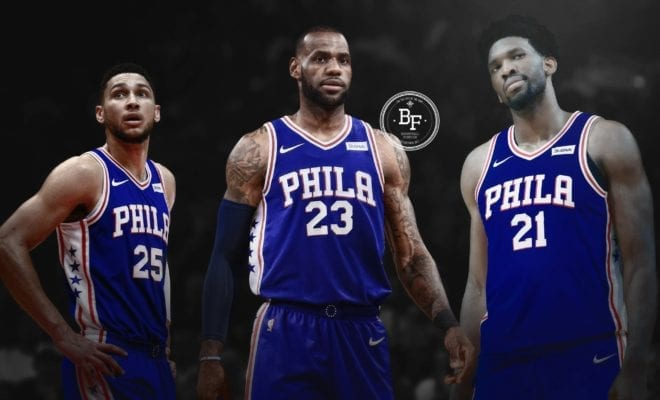 Rumour Mill Philadelphia 76ers Gaining Confidence In Signing LeBron James