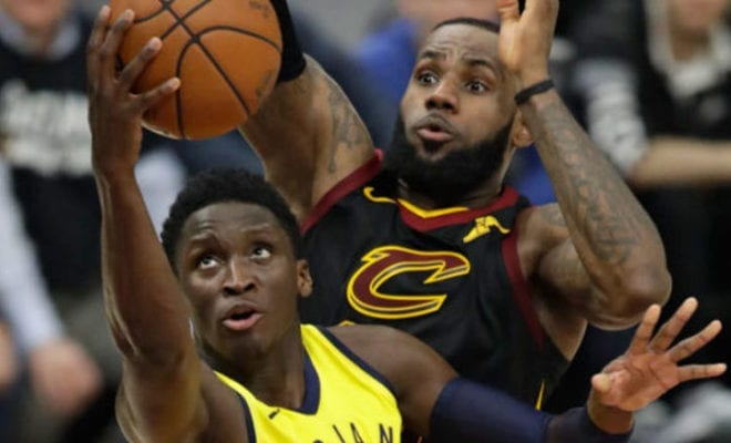 Image result for victor oladipo pissed