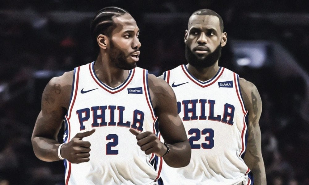 76ers To Heavily Pursue Kawhi Leonard And Paul George In Free Agency