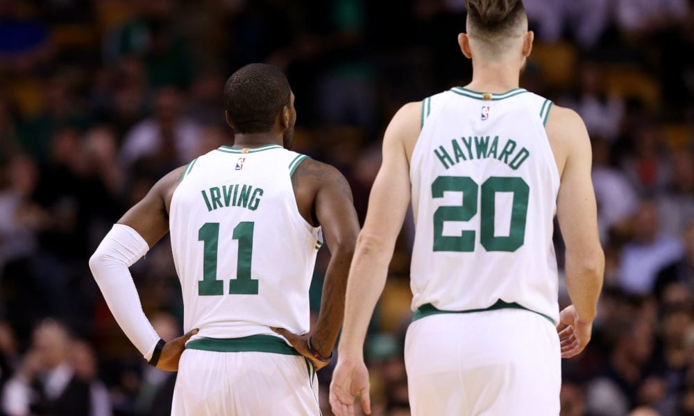 Danny Ainge Laughs At People Thinking Celtics Are Better Without Kyrie Irving And Gordon Hayward
