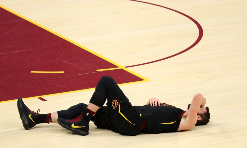 Kevin Love's Health Is Shrouded In Uncertainty Ahead Of The NBA Finals