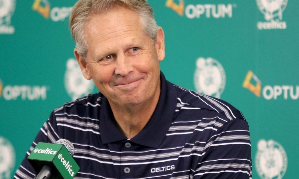 Danny Ainge Responds To Cavs Player Calling Him A 'Fucking Thief'