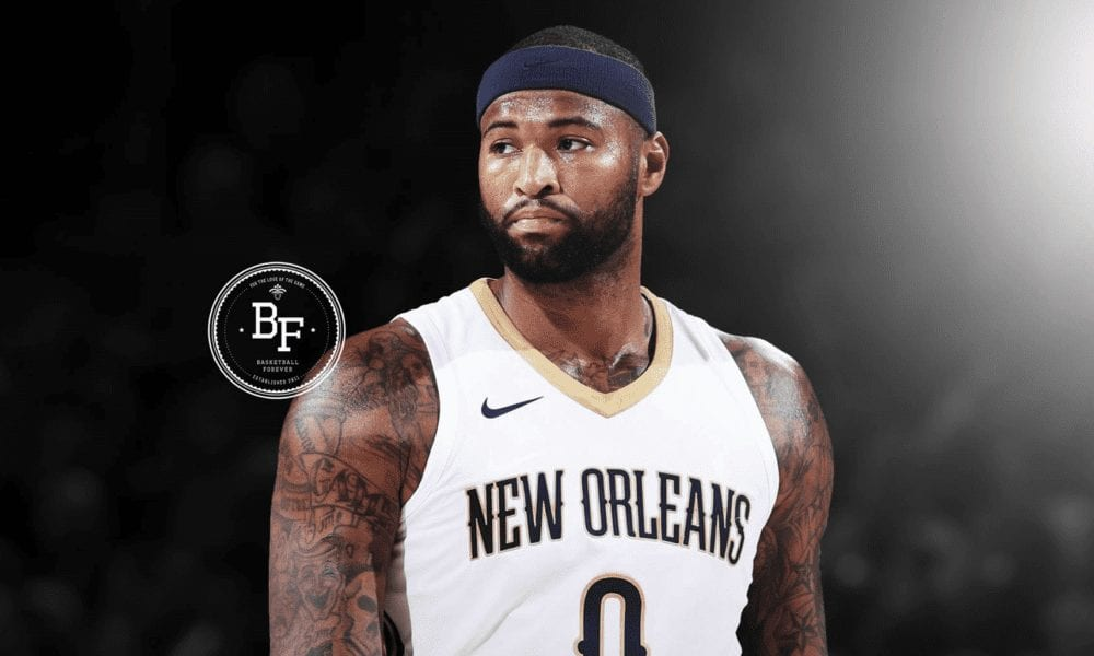 Aw Shit, DeMarcus Cousins Just Unfollowed The Pelicans On Instagram