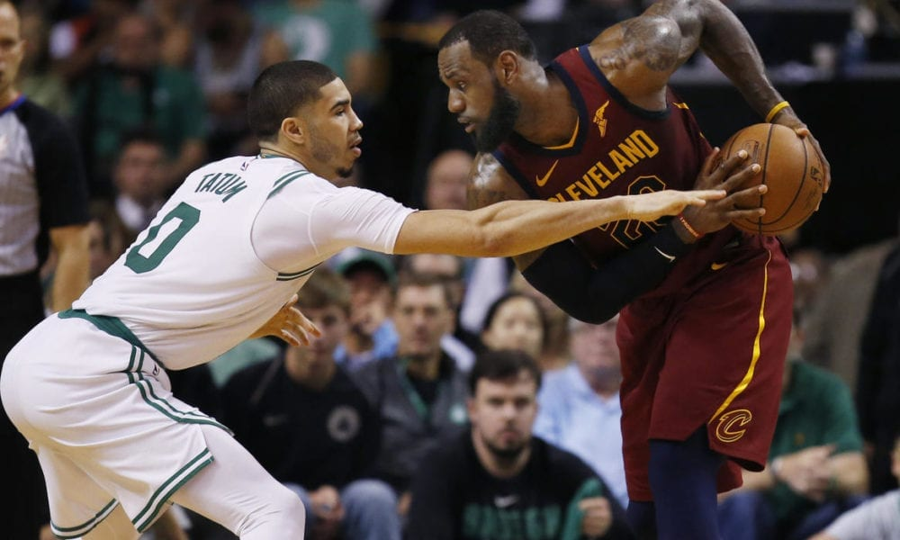 LeBron James Says Jayson Tatum On Track To Become Great