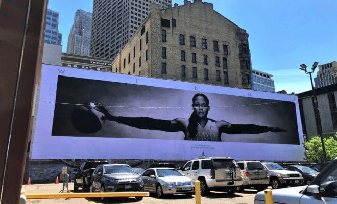 5ee32c1d7d98ed Maya Moore Recreates Iconic Michael Jordan Poster In Dope New Campaign