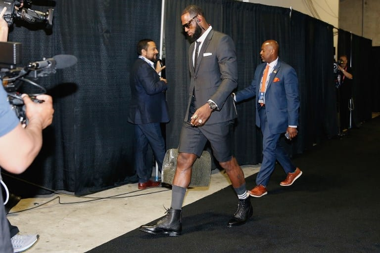Investigation: LeBron Didn't Start The Suit Shorts Trend, So Who Did?
