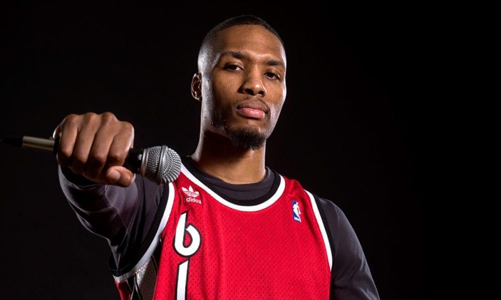 Damian Lillard Says He's The Best Rapper In The NBA
