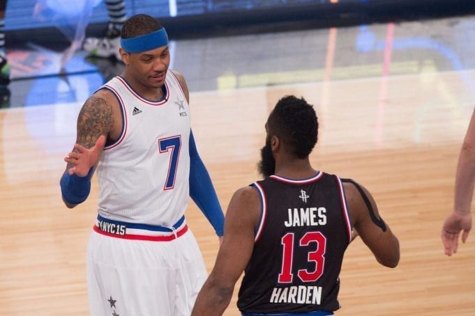 James Harden Is Convinced Carmelo Anthony Will Thrive In Houston