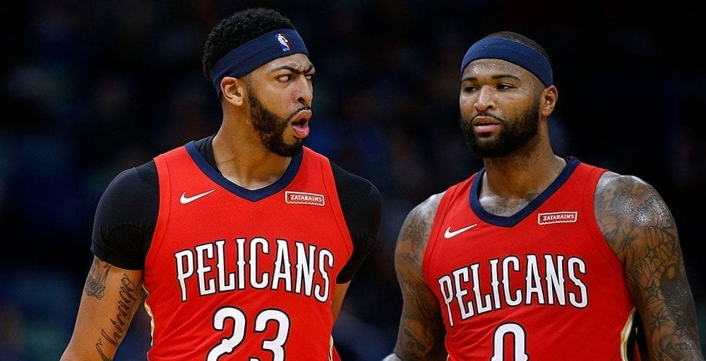 Anthony Davis Addresses DeMarcus Cousins Leaving For The Warriors