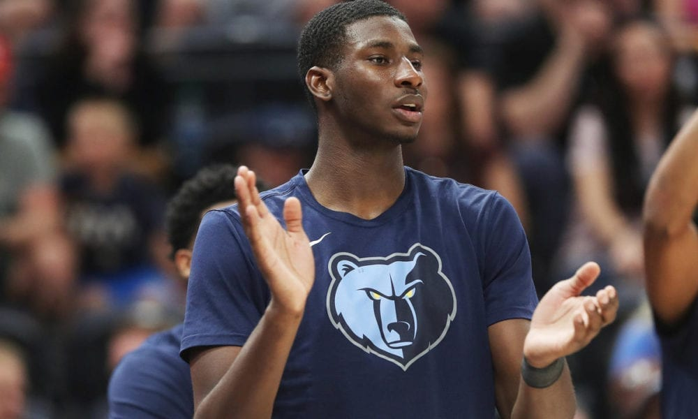 Jaren Jackson Jr Grizzlies defense