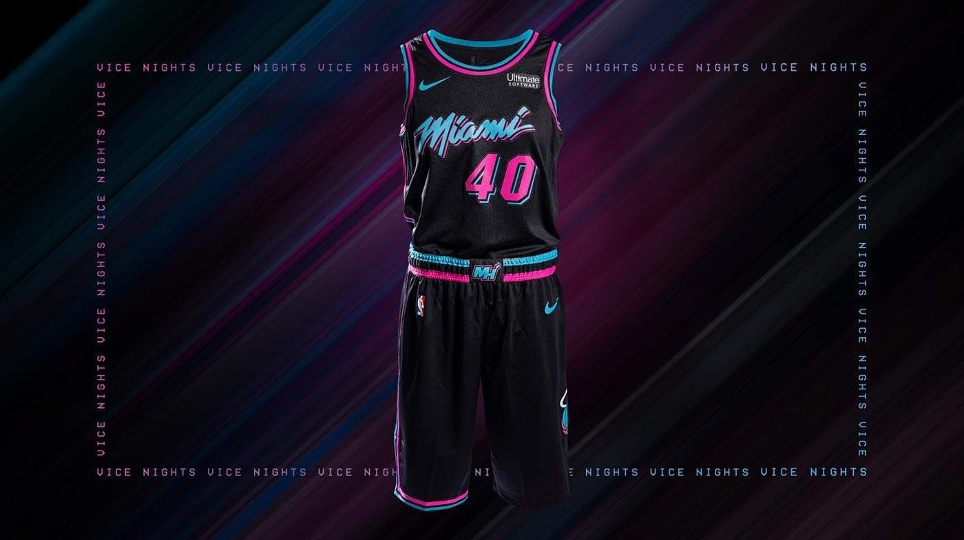 85271084057c Image Credit  Nike.  Miami Vice  lives on through the Heat s ...