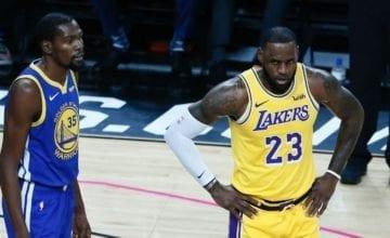 lebron james kevin durant basketball forever