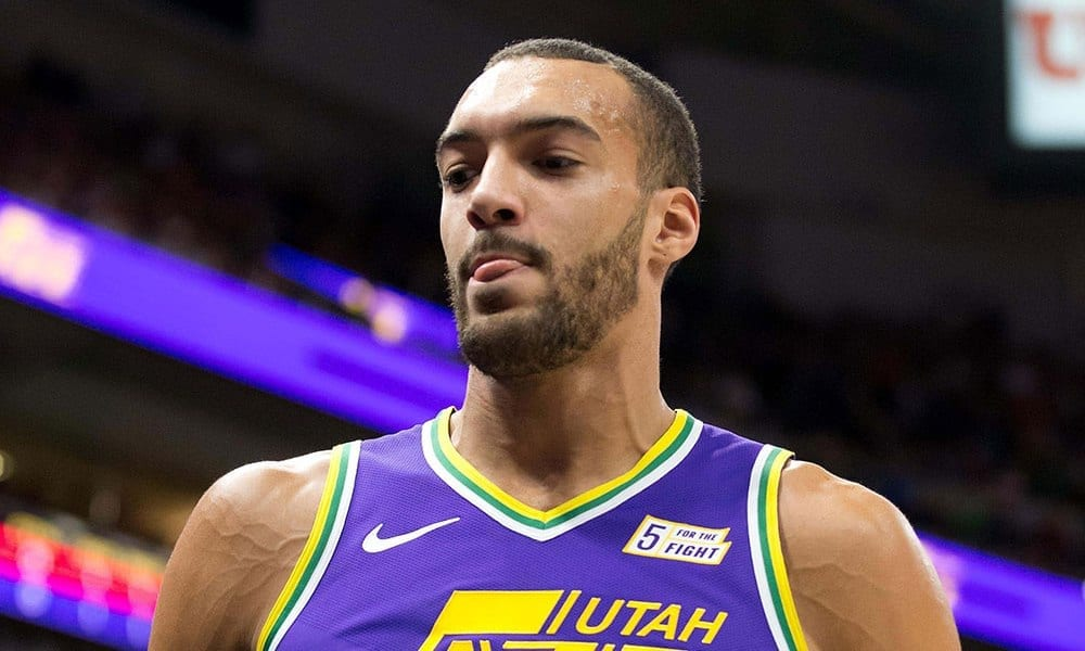 rudy gobert utah jazz basketball forever
