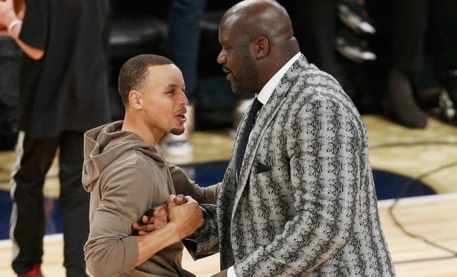 8fd2b5708c28 Steph Curry Responds To Shaq Saying His Lakers Would Beat Warriors