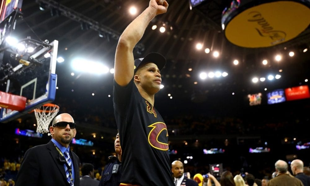 Richard Jefferson talks about the 2016 Finals