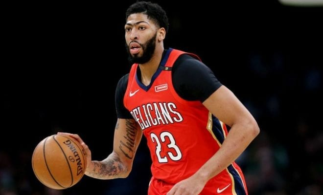 daef802bb Anthony Davis  days in New Orleans are numbered and the two teams widely  considered to have the best chance of landing him are the Lakers and  Celtics.