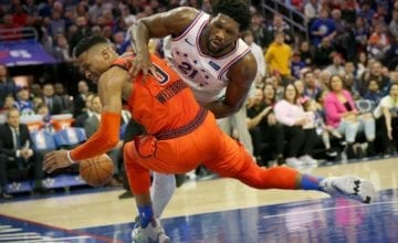 russell westbrook joel embiid basketball forever
