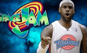 lebron james space jam 2 basketball forever