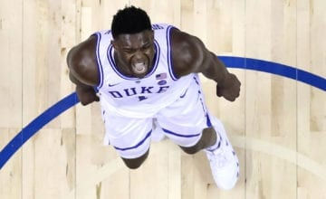 Zion Williamson march madness basketball forever