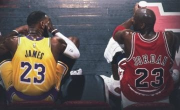 lebron james michael jordan basketball forever