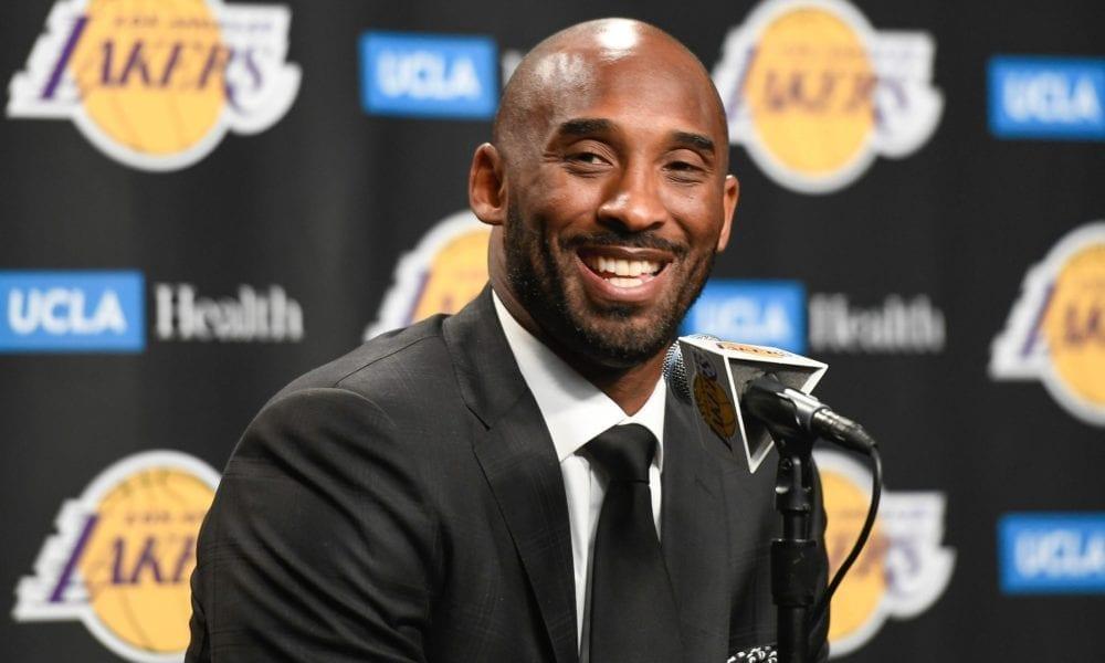 Kobe Bryant Lakers press conference
