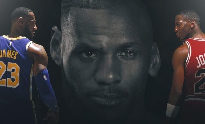 NBA Players React To LeBron James Passing Michael Jordan On The All-Time  Scoring List b9b322c57