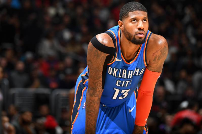 Paul George Thunder uniform