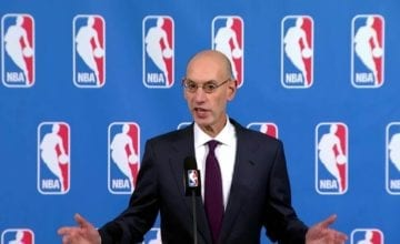 adam silver talking
