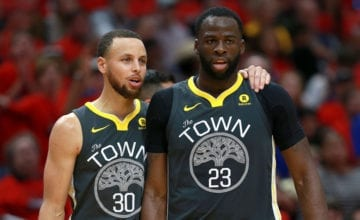 draymond green steph curry basketball forever