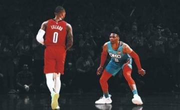 damian lillard russell westbrook basketball forever beef