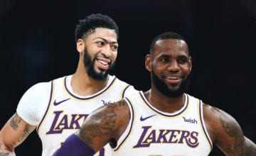 anthony davis lakers basketball forever