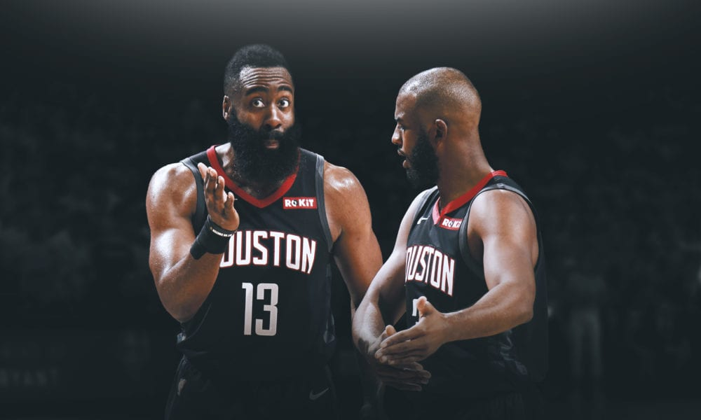 Why Chris Paul and James Harden Are So Pissed Off With Each Other