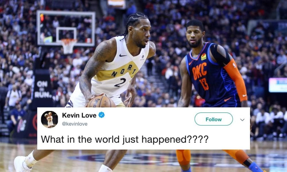 NBA Players React To Clippers Signing Kawhi Leonard, Trading For Paul George