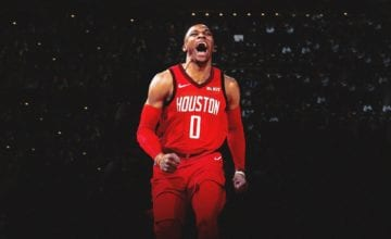russell westbrook houston rockets basketball forever