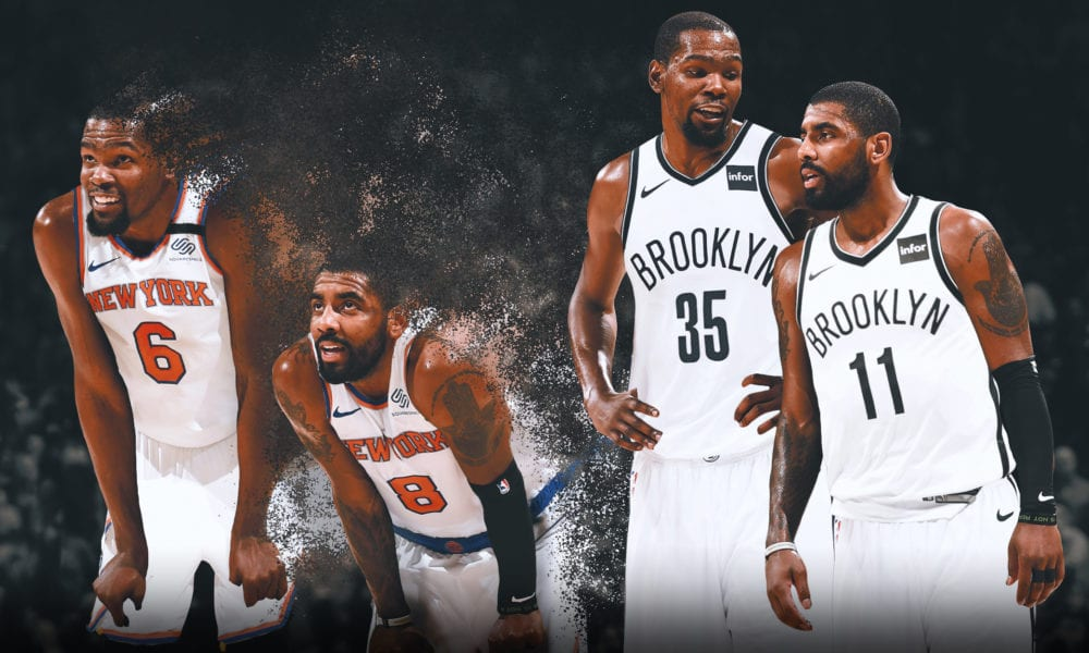 kevin durant kyrie irving basketball forever