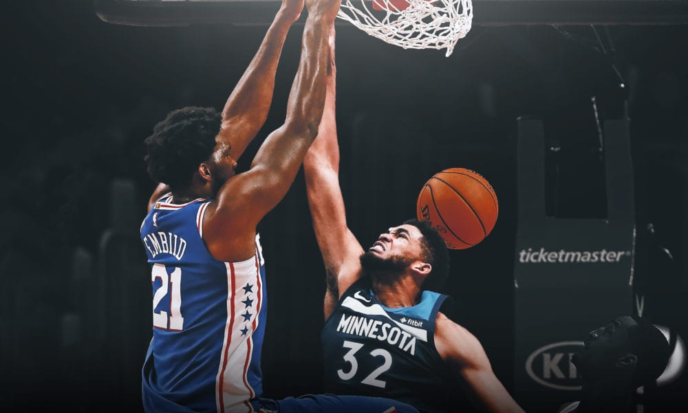 An Endless List Of Signs That Joel Embiid Owns Karl-Anthony Towns